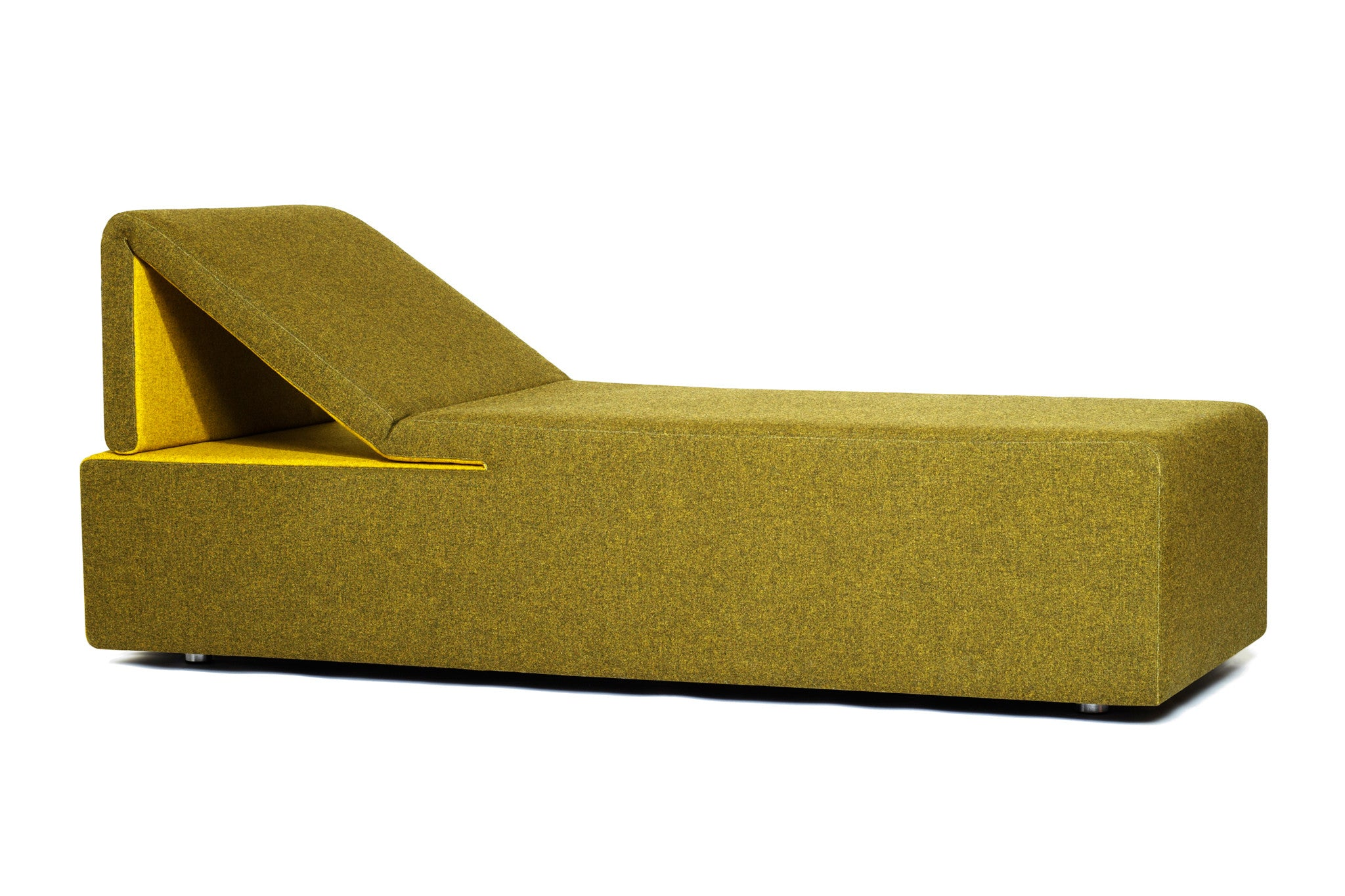 council peel chaise products design green lounge