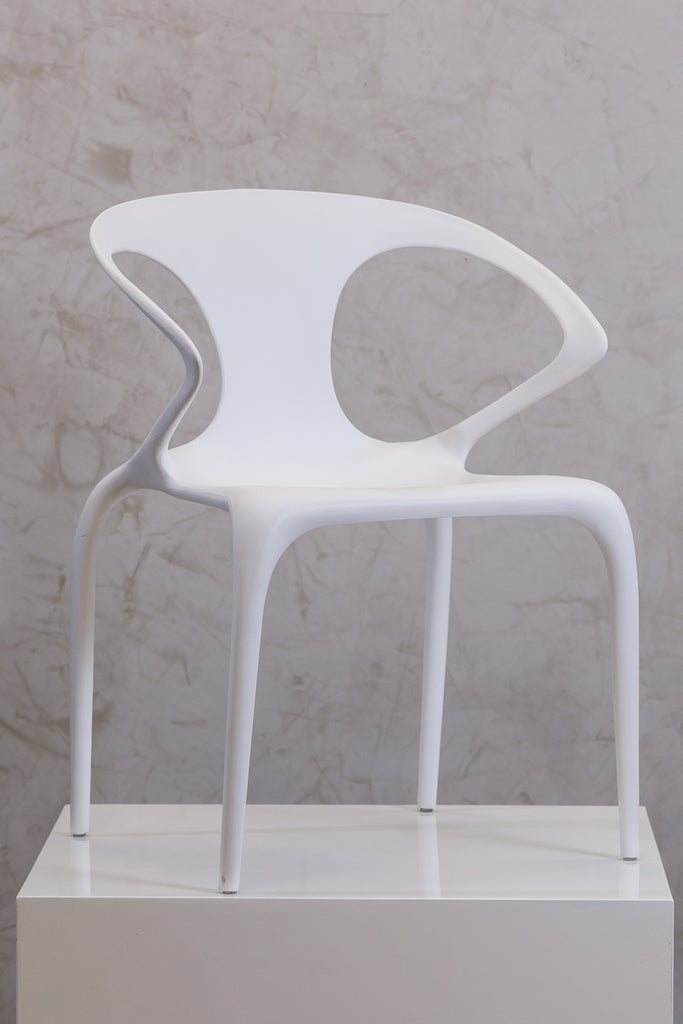 "27"" Loop Chair - Pure White - Casa Febus - Home • Design"