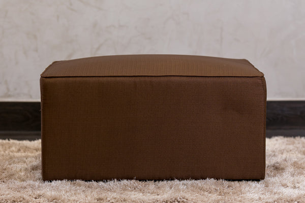 "30""W x 28""H Unique Ottoman - Brown - Casa Febus - Home • Design"