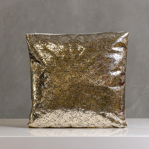 "Festive Reflection Pillow 17""x17"" Champagne - Casa Febus - Home • Design"