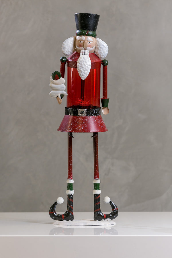 Funny Nutcracker w/Red Glass - Casa Febus - Home • Design