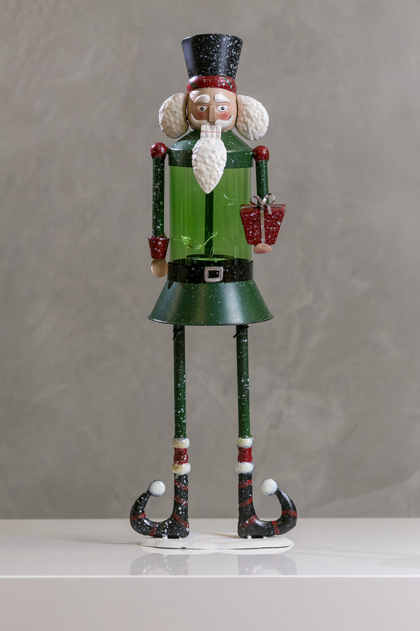 Funny Nutcracker w/Green Glass - Casa Febus - Home • Design