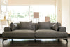 Lexie Sofa - Charcoal Gray