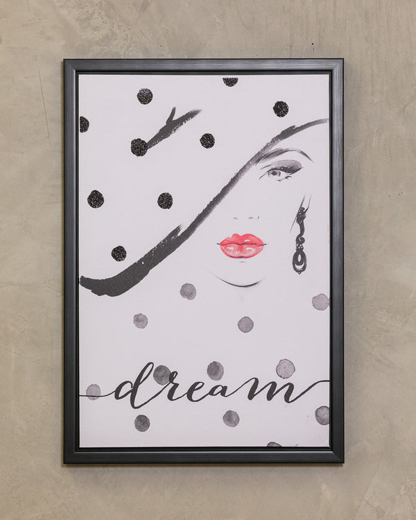 "18"" x 26"" Dream Wall Décor - Beau Collection"