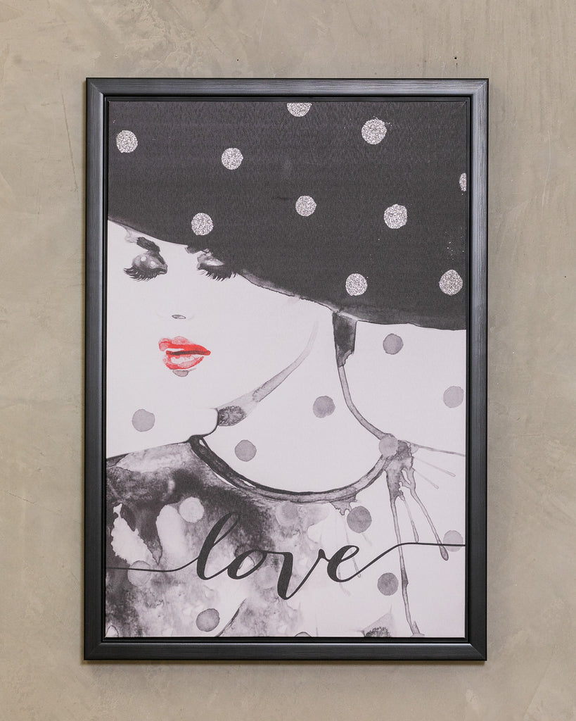 "18"" x 26"" Love Wall Décor - Beau Collection"