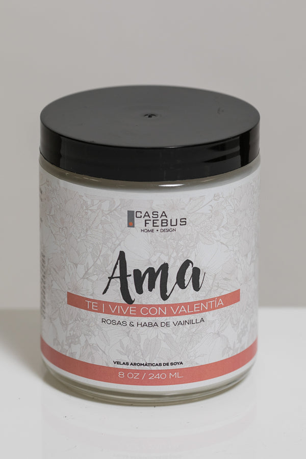 Ama Handmade Candle- Vive Collection