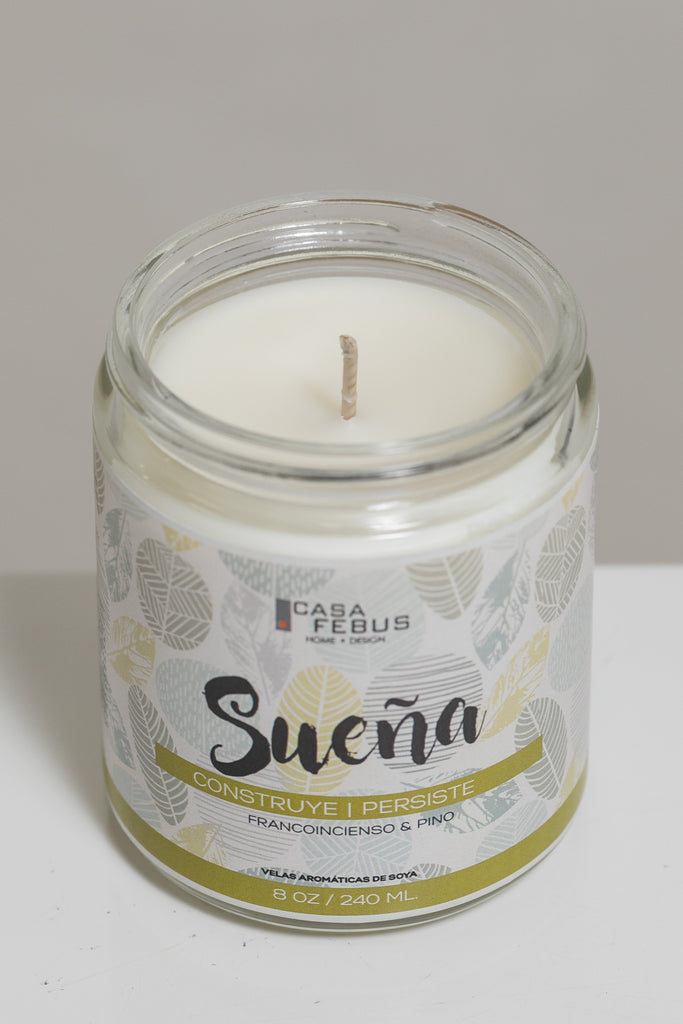 Sueña Handmade Candle- Vive Collection