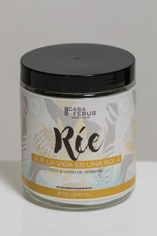 Rie Handmade Candle- Vive Collection