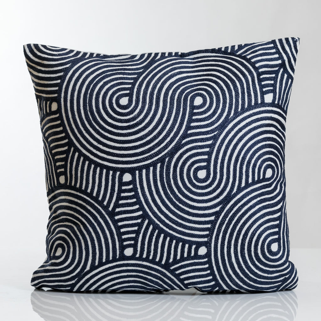 Blue Combination Barcelona Pillow-Etre Collection