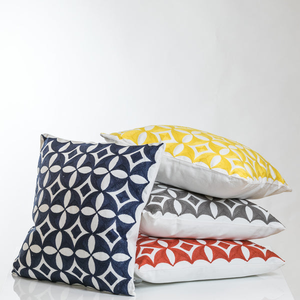 Orange Combination Andalucia Pillow-Etre Collection