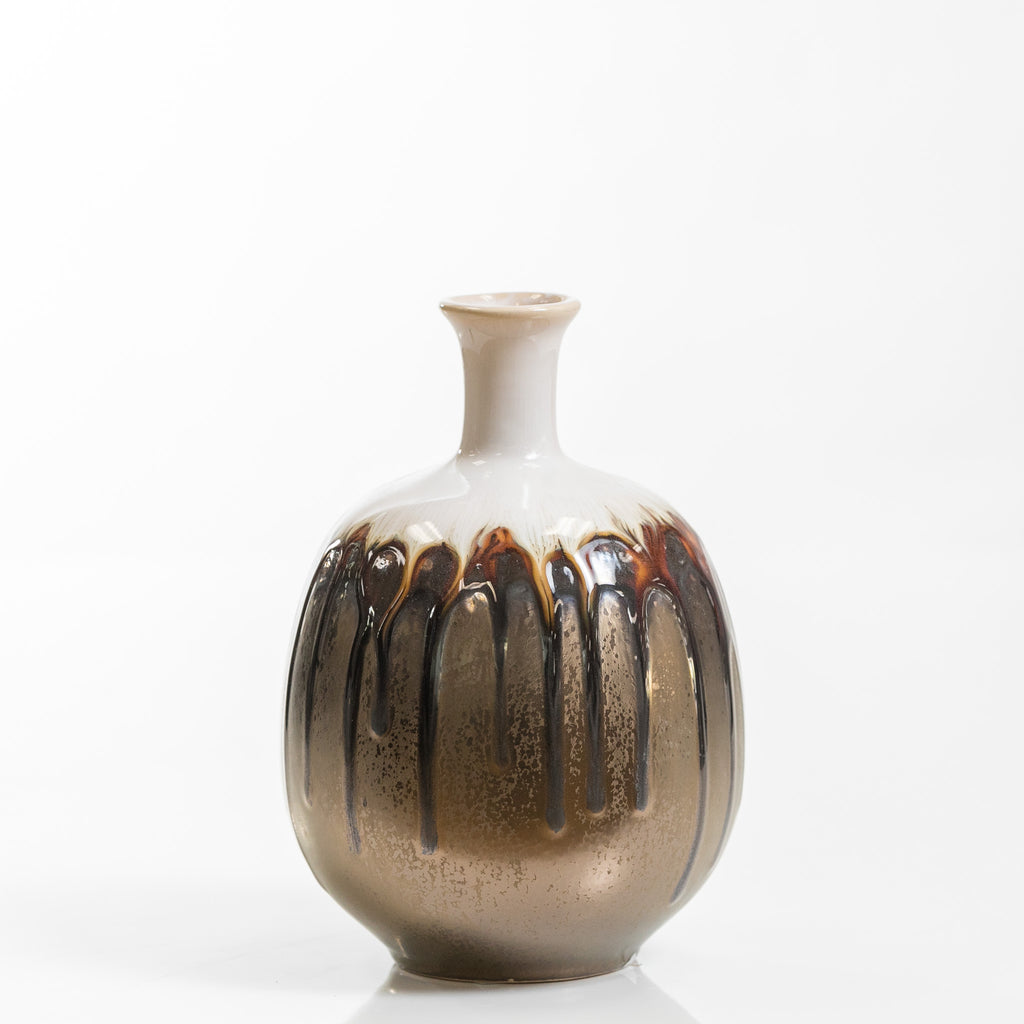"5"" Round Pot Vase- Smelten Collection"