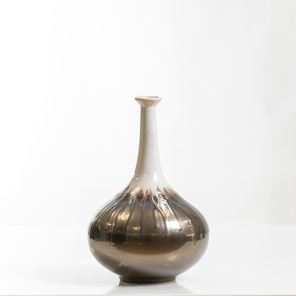 "11"" Long Pot Vase- Smelten Collection"