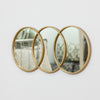 Gold Circlet Mirror - Metalle Collection