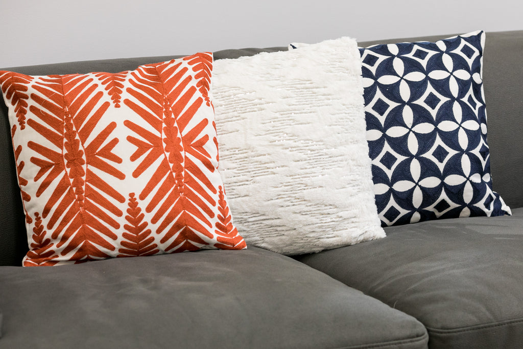 Orange Combination Ibiza Pillow-Etre Collection