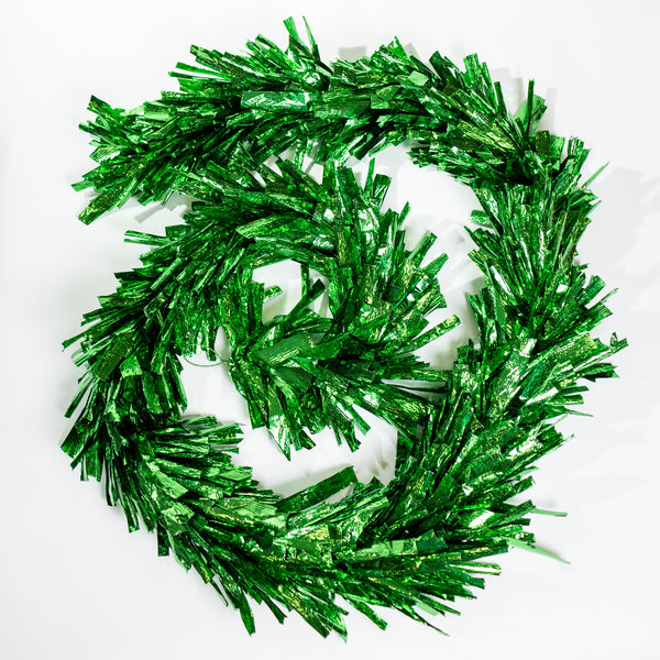 "10""x9"" Metallic Garland - Green"