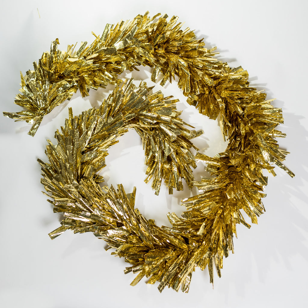 "10""x9"" Metallic Garland - Gold"