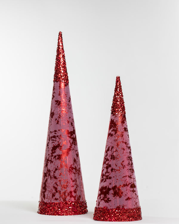 "6.5""X 24"" Red Tree Cone"