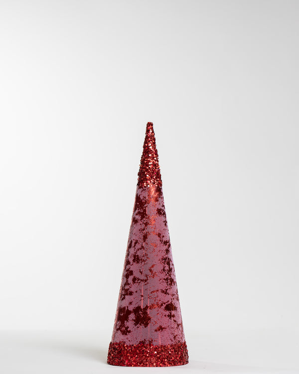 "6""X 18"" Red Tree Cone"