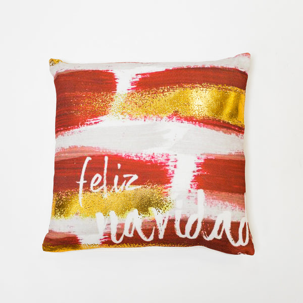 Chic Navidad Pillow by Liz Designs