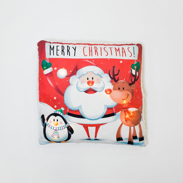 Santa Claus Pillow with LED