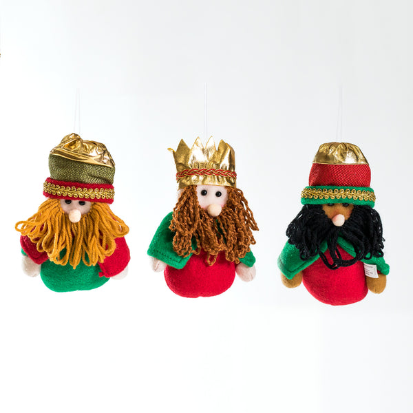 "7"" Three Kings Ornament set - Joy Collection"