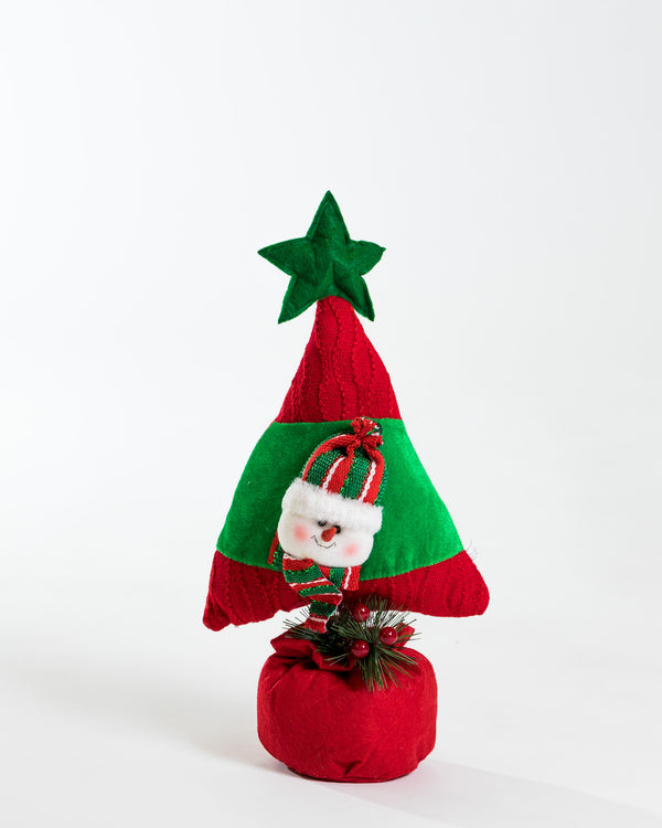Happy Snowman Tree Decor
