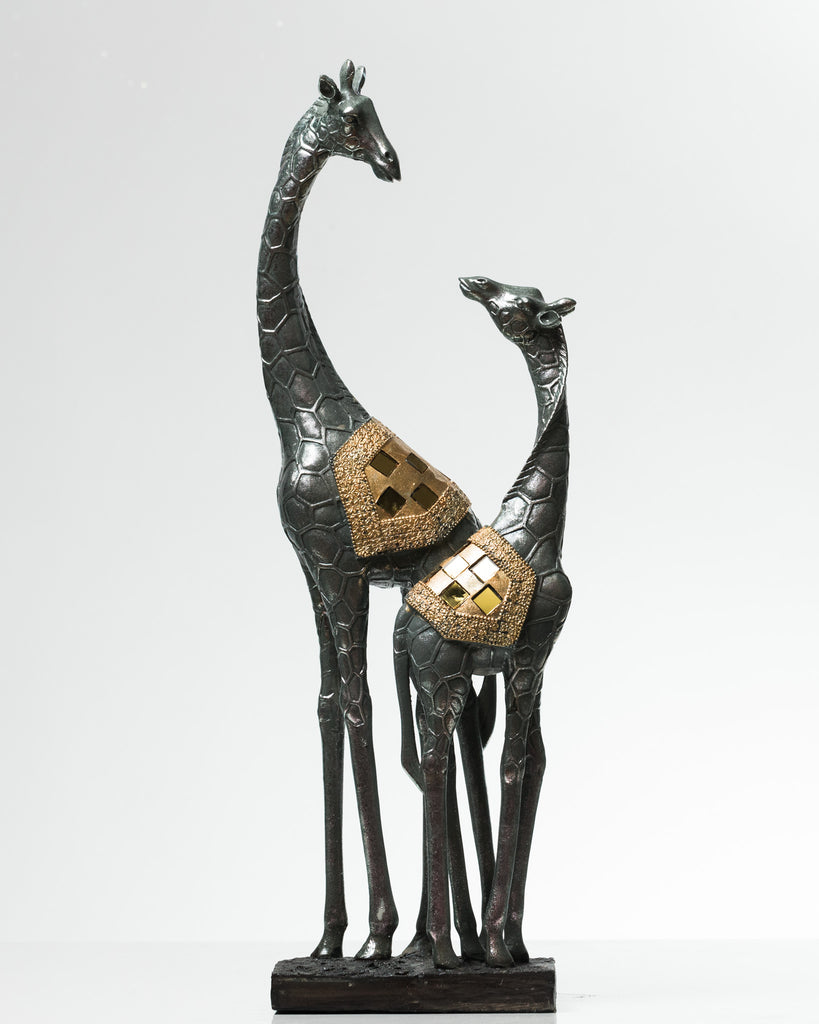"18"" Giraffe & Baby Giraffe- Nantes Collection"
