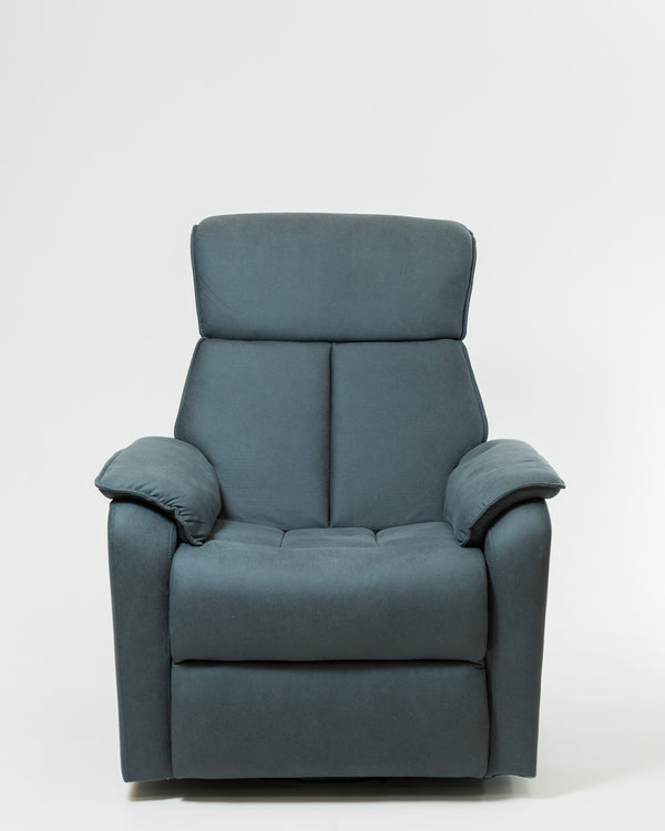 Amanda Deluxe Reclining Armchair- Charcoal Gray