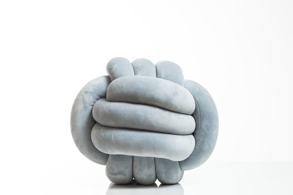 Knot Pillow (Smoke)- Hayden Collection