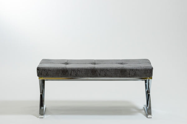 Reflections Bench-Charcoal Gray