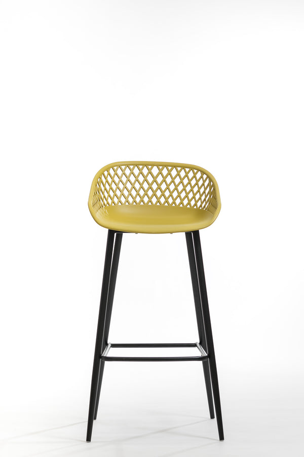 Nouvelle Stool-Dijon Yellow