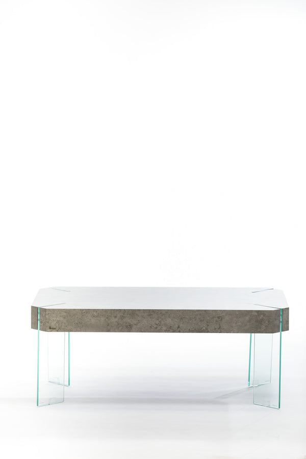 Blanche Coffee Table-Cement