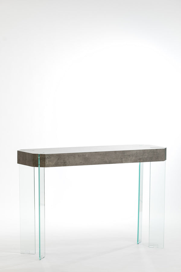 Blanche Console Table- Cement