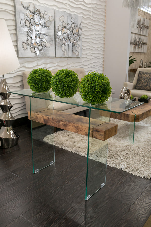 Blanche Mood Console Table- Madeira
