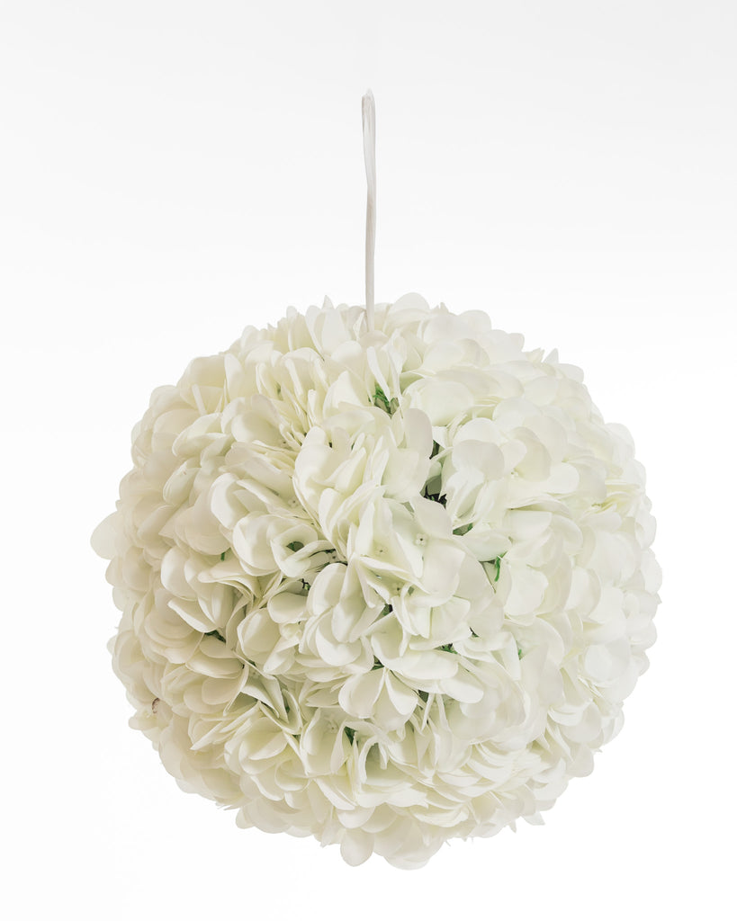 "11"" Hydrangea Hanging Ball- Botanique  Collection"