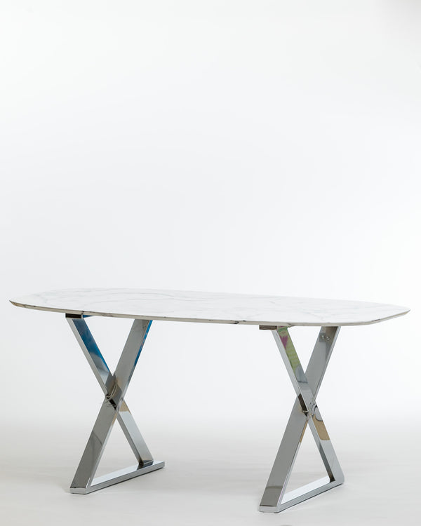 Trish Marble Grain Dinning Table