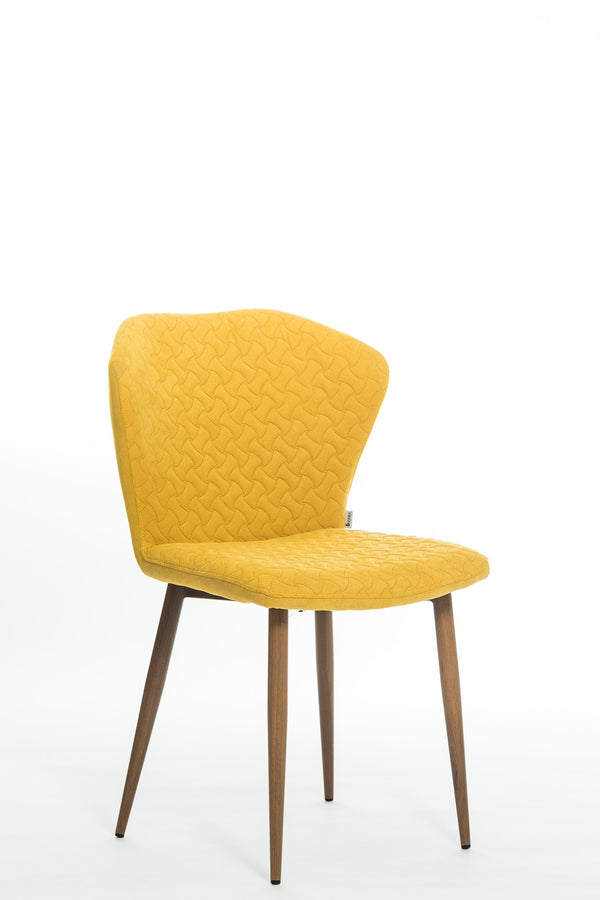 Tatelyn Chair-Yellow