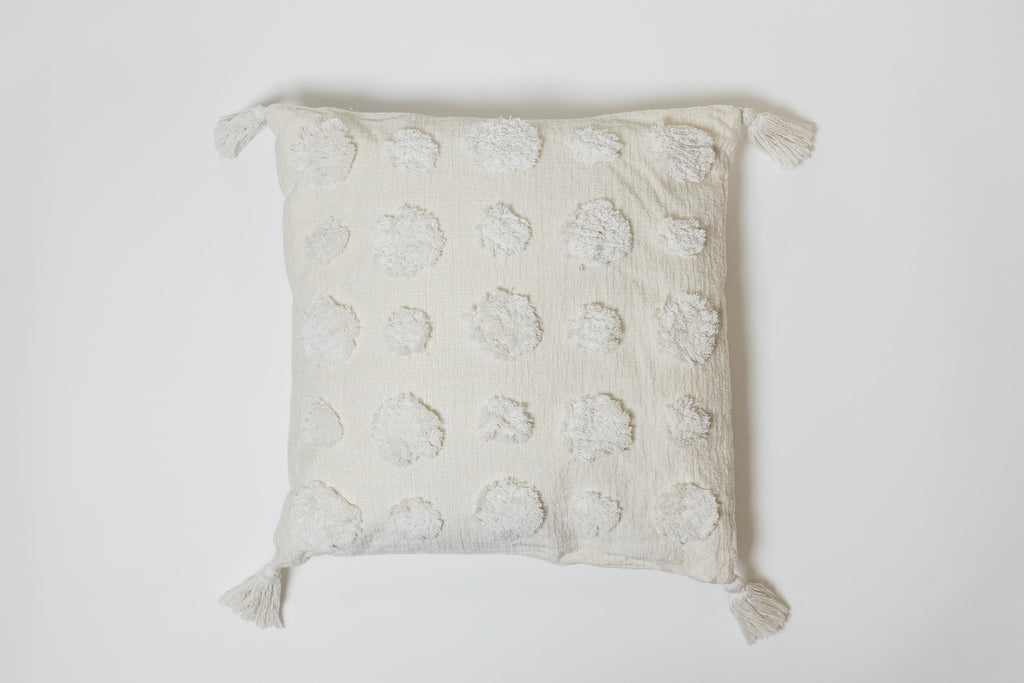 Dots Cream Pillow - Brodé Collection