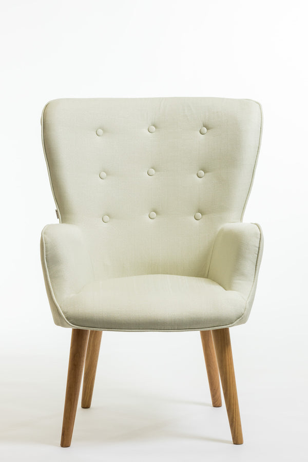 Julie Armchair- Ivory
