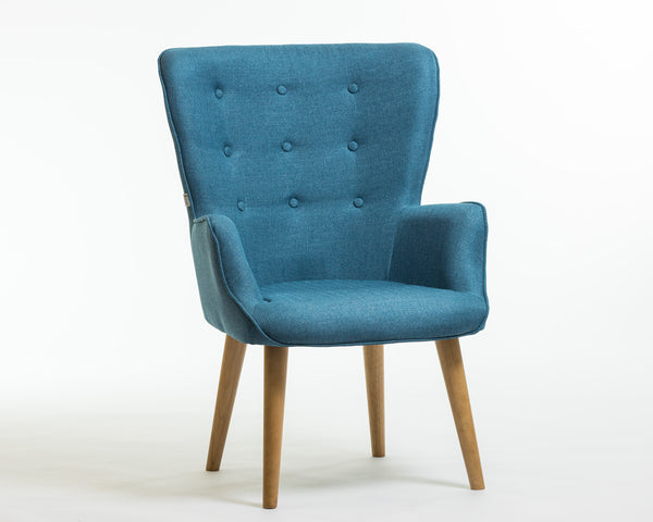 Julie Armchair- Trendy Blue