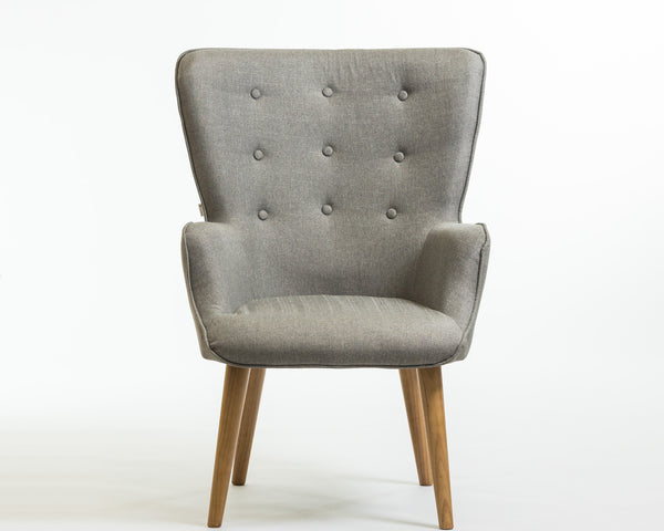 Julie Armchair- Smoke Gray