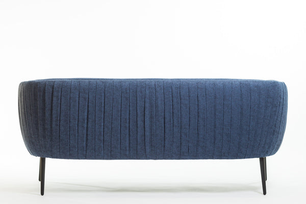 Hope Three Seat Sofa - Navy Blue