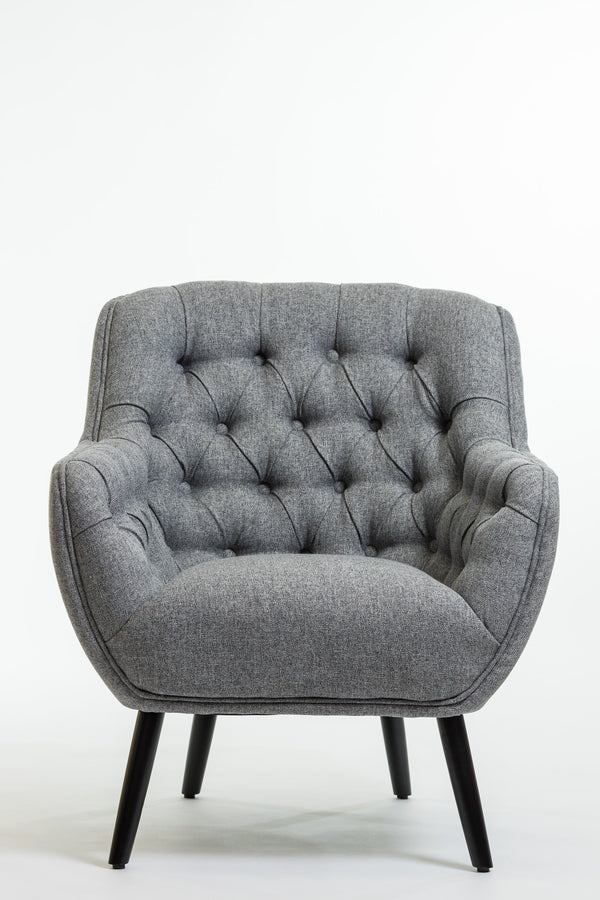 Hannah Arm Chair- Smoke Gray