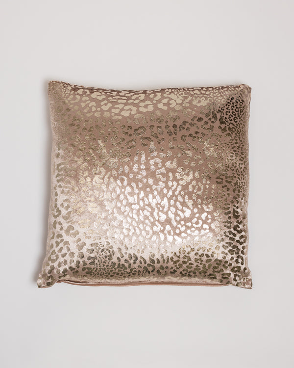 "18"" x 18"" Modello Pillow - Dk. Cream/Gold"