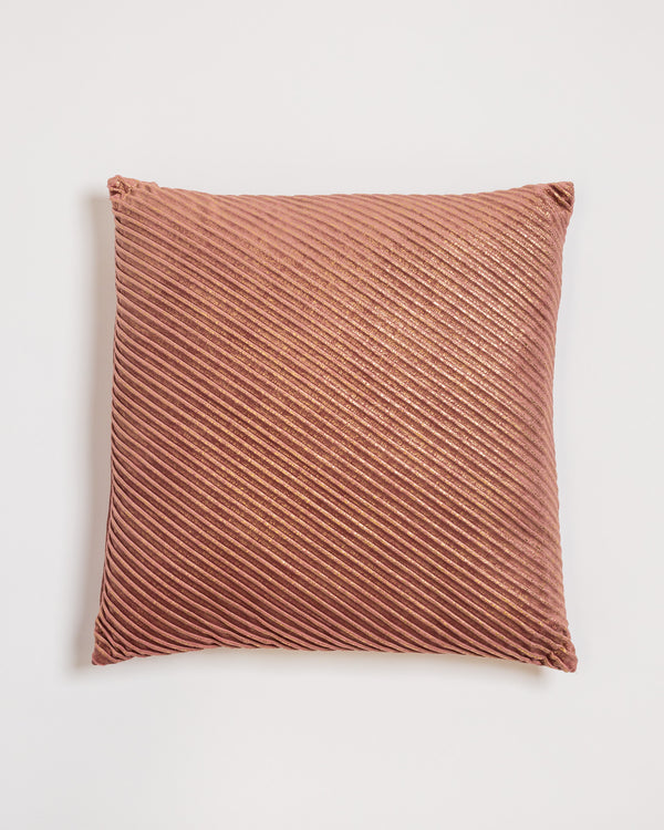 "18"" x 18"" Brille Pillow - Rose/Gold"
