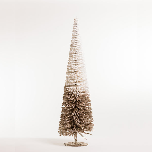 "32"" Chic Xmas Tree White/Champagne - Metallic Collection"