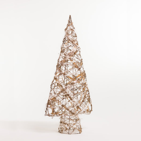 "24""  Gold Tree w/Light - Boho Chic Collection"