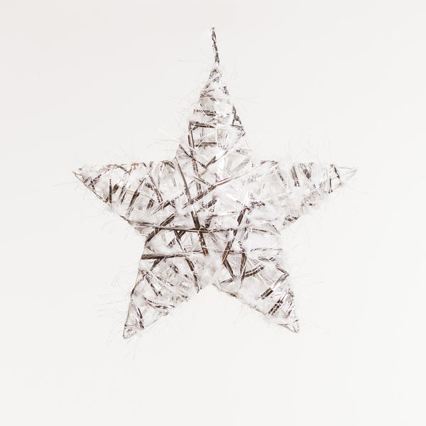 "3D Silver Star 8"" - Boho Chic Collection"