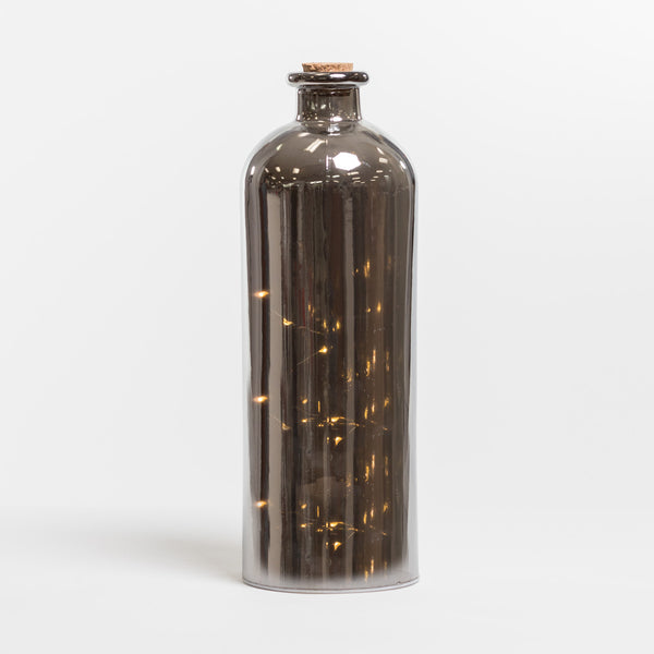 "12"" Mercury Bottle w/6 rolling star - Felicitá Collection"