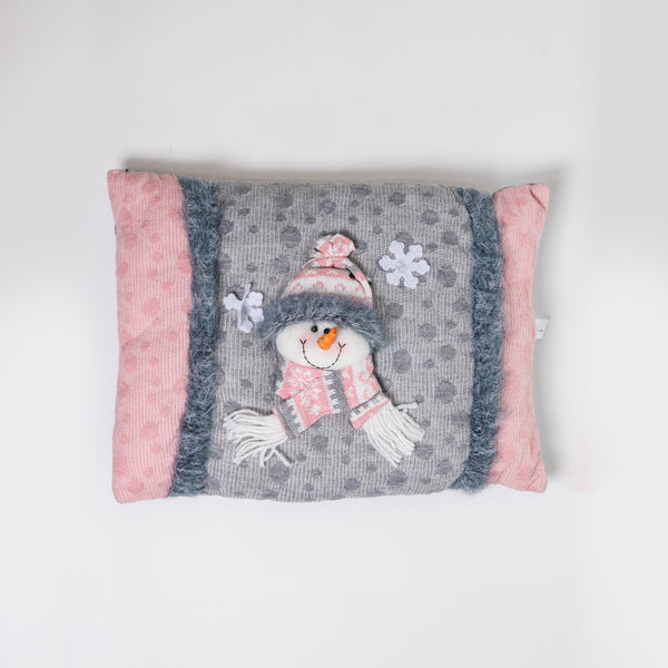 "16"" Snowman Cushion - Vogue Collection"